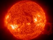 The sun (image from SOHO spacecraft)