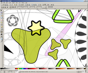 Inkscape 2D vector drawing