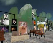 Second life virtual world screenshot