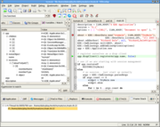 KDevelop integrated development environment (Linux only)