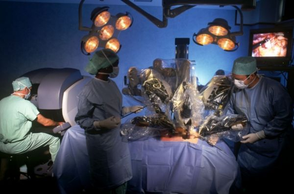 The da Vinci robot is one of the first multi-purpose surgical robots to gain widespread clinical use. It can perform a wide range of operations and results in about the same clinical outcomes as conventional surgery[1]. It is the only the first generation of surgical robotics, and functions as a proof-of-concept; later versions will achieve superior results to non-robotic surgery.